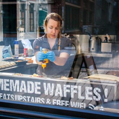 Agence de communication graphiste restaurant food horeca Belgique photographe culinaire